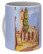 A Church At Cagnes Coffee Mug
