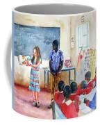 A Classroom In Africa Coffee Mug