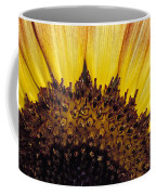 A Close-up Detail Of A Sunflower Head Coffee Mug
