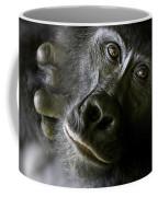 A Close Up Portrait Of A Mountain Coffee Mug