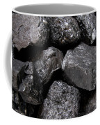 A Close View Of Coal Ready For Burning Coffee Mug