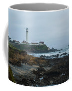 A Cloudy Day At Pigeon Point Coffee Mug