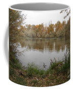 A Cloudy Day On The Pond Coffee Mug