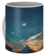 A Cloudy Mountain  Coffee Mug
