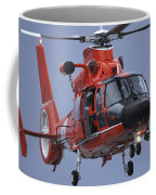 A Coast Guard Mh-65 Dolphin Helicopter Coffee Mug by Stocktrek Images