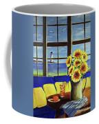 A Coastal Window Lighthouse View Coffee Mug