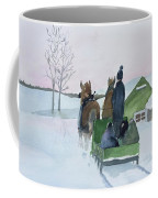 A Cold Ride Coffee Mug