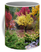 A Colorful Fall Corner Coffee Mug