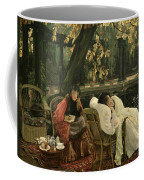 A Convalescent Coffee Mug by James Jacques Joseph Tissot