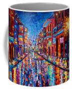 A Cool Night On Bourbon Street Coffee Mug