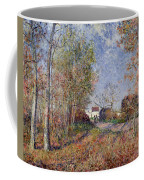 A Corner Of The Woods At Sablons Coffee Mug