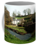 A Cornish Cottage By The Stream Coffee Mug