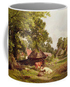 A Cottage Home In Surrey Coffee Mug