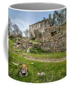 A Cottage In Ruins Coffee Mug