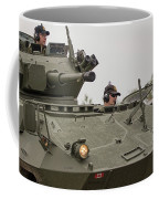 A Cougar With A 76 Mm Bite - Cougar Avgp Coffee Mug