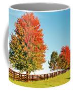A Country Autumn Coffee Mug