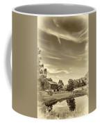 A Country Place 3 - Sepia Coffee Mug