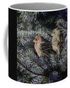 A Couple Of House Finch Coffee Mug by LeeAnn McLaneGoetz McLaneGoetzStudioLLCcom