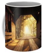 A Covered Bridge In New Market Coffee Mug