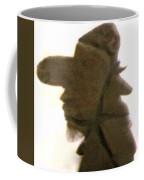 A Cowboy's Shadow In Rock - 2 Coffee Mug
