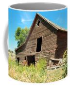 A Crooked Old Barn  Coffee Mug