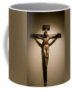 A Crucifix In The Old Saint Francis Coffee Mug by Stephen St. John