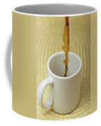A Cup Of Energy Filled Coffee Is Poured Coffee Mug by Taylor S. Kennedy