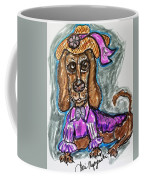 A Dachshund Easter Coffee Mug