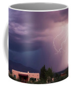 A Dance Of Lightning In The Foothills Coffee Mug