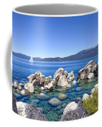 A Day At The Lake Coffee Mug