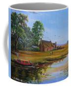 A Day On The Canal Coffee Mug