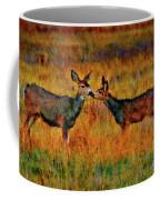 A Deer Kiss Coffee Mug