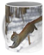 A Devil Named American Red Squirrel Coffee Mug