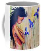 A Different Kind Of Blue Coffee Mug