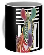 A Different Zebra Coffee Mug by Teresa Epps