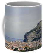 A Distant View Cefalu Sicily Coffee Mug
