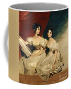 A Double Portrait Of The Fullerton Sisters Coffee Mug by Sir Thomas Lawrence