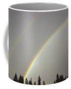 A Double Rainbow Coffee Mug