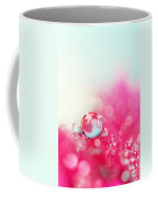 A Drop With Raspberrys And Cream Coffee Mug