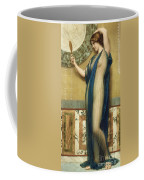 A Fair Reflection Coffee Mug by John William Godward