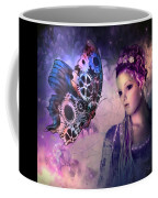 A Fairy Butterfly Kiss Coffee Mug