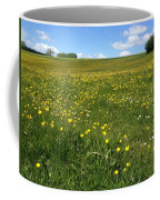 A Field Of Buttercups Coffee Mug