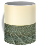 A Field Stitched Coffee Mug