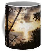 A Fiery Sunset Coffee Mug