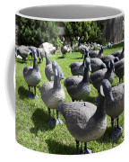 A Flock Of Decoys Coffee Mug