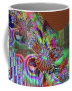A Foiled Pansy Coffee Mug
