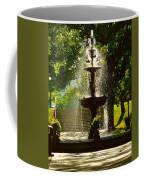 A Fountain In A St. Paul Park Coffee Mug