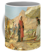 A Frank Encampment In The Desert Of Mount Sinai 1842 Coffee Mug