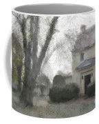 A Frosty Foggy Morning At The Manor House Coffee Mug