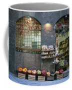 A Fruit And Vegetable Shop In Siena Coffee Mug